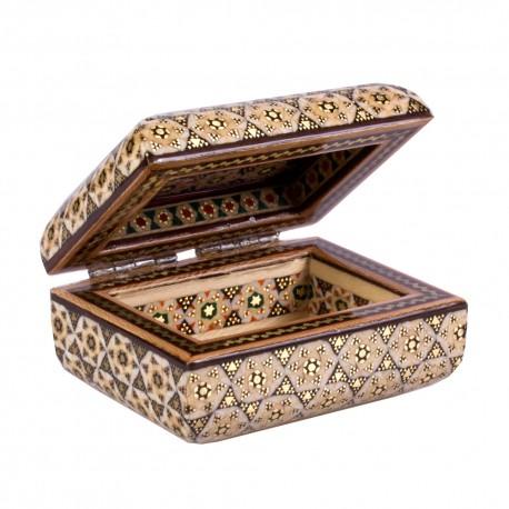 جعبه هدیه گوشواره و حلقه طلا