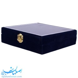 جعبه بشقاب میناکاری مخمل