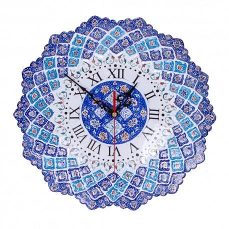 ساعت دیواری میناکاری اصفهان هنر