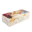 جعبه دستمال کاغذی سنگ مرمر با نقاشی مینیاتور