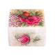 جاسکه ای سنگی با نقاشی گل و مرغ
