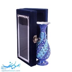 هدیه تبلیغاتی صنایع دستی گلدان کوچک 16 سانتیمتری