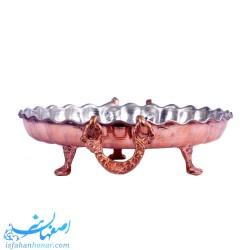 شیرینی خوری مسی کوچک سنتی ایرانی