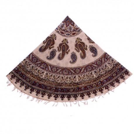 رومیزی بزرگ گرد پارچه ای سنتی