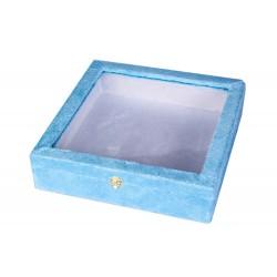 جعبه کادویی چوبی با روکش مخمل 30 سانتیمتری