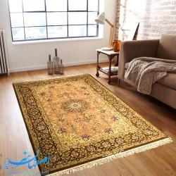 فرش دستباف لچک ترنج ابعاد 190×130 سانتیمتر