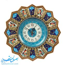 isfahan handicrafts wall clock