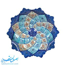 تابلوی نقاشی اسلیمی میناکاری 20 سانتیمتری