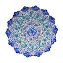 بشقاب مینا نقاشی پرداز قطر 30 سانتیمتر