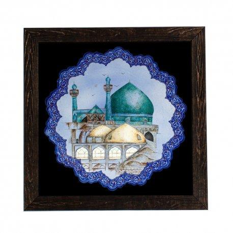 تابلوی میناکاری اصفهان نصف جهان