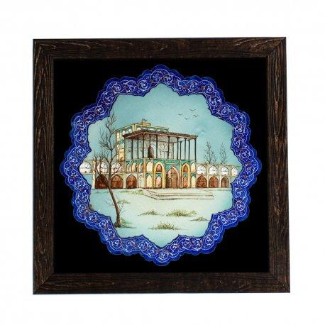 خرید نقاشی کاخ عالی قاپو اصفهان