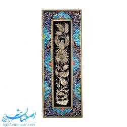 تابلوی قلمزنی با قاب نقاشی اسلیمی