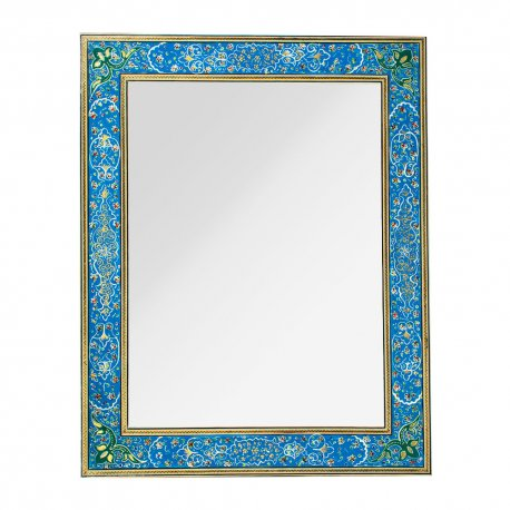 قاب آینه خاتم کاری