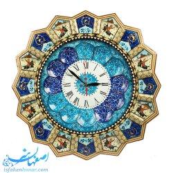 ساعت دیواری نقاشی بازی چوگان