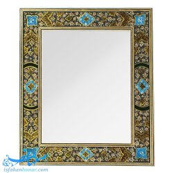 قاب آینه خاتم کاری نقاشی تذهیب
