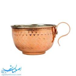 فنجان چایی مسی چکشی سنتی
