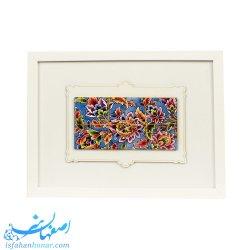 تابلوی دیواری نقاشی روی کاشی ابعاد 39×29 سانتیمتر