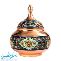 شکلات خوری مس و پرداز گنبدی -صنایع دستی61