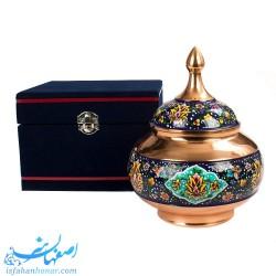 شکلات خوری مس و پرداز ایرانی -صنایع دستی61