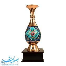 تندیس گلدان تبلیغاتی مس و پرداز -هدیه 65