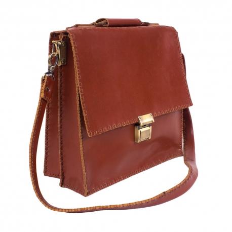 کیف چرمی دست دوز