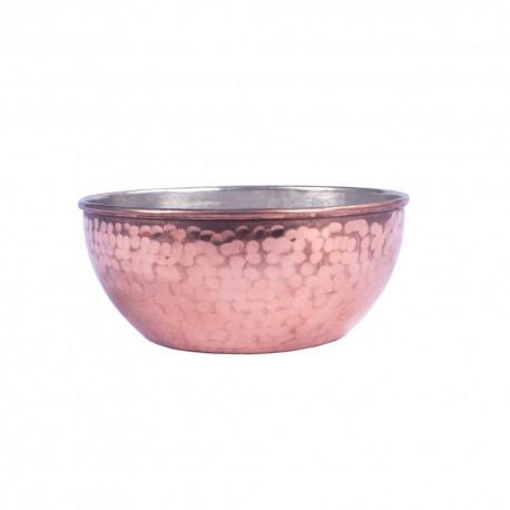 کاسه سنتی مسی چکشی قطر 13 سانتیمتر
