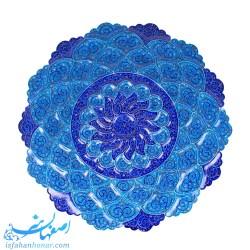 بشقاب مینای قطر 30 سانتیمتری نقاشی اسلیمی