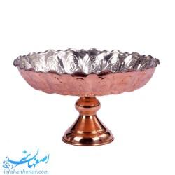 میوه خوری سنتی مسی قطر 27 سانتیمتر- 55