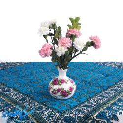 گلدان اناری سرامیکی گل سرخی