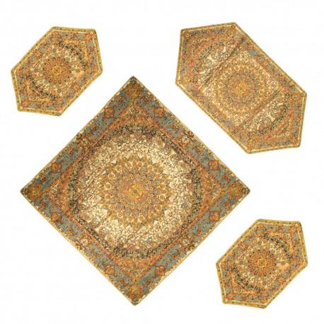 رومیزی ترمه سنتی