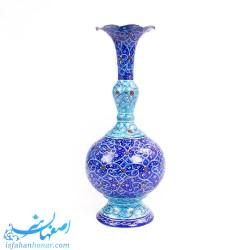 گلدان فیروزه ای لاجوردی - هدیه صنایع دستی 32