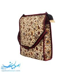 کیف رو دوشی پارچه ای قلمکار 30×25 سانتیمتری