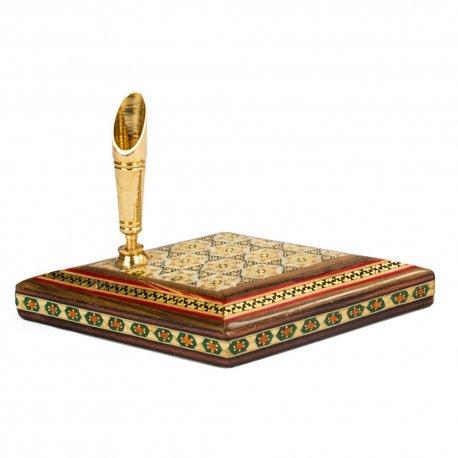 جاقلمی رومیزی چوبی - صنایع دستی 45