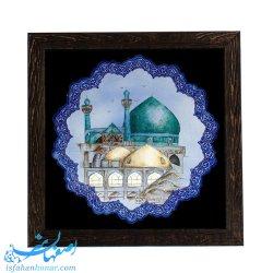 قاب مینای نقاشی مسجد امام میدان نقش جهان اصفهان