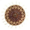 رومیزی پارچه ای گرد 40 سانتیمتری قلمکار