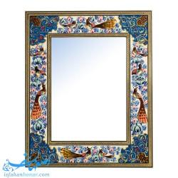آینه سنتی نقاشی گل و مرغ