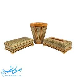 ست کامل چوبی سالن پذیرایی