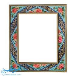آینه نقاشی گل و مرغ