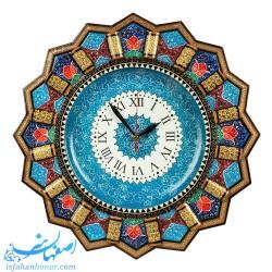 ساعت خاتم کاری 42 سانتیمتری با نقاشی تذهیب